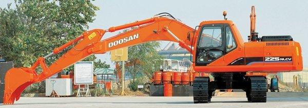 Фото №2:Экскаватор гусеничный DOOSAN S225NLC-V