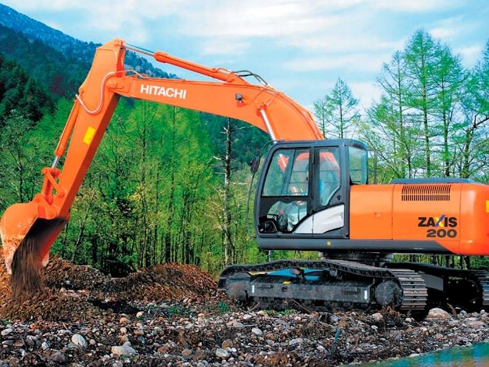 Фото №1:Экскаватор гусеничный Hitachi ZX200 5G
