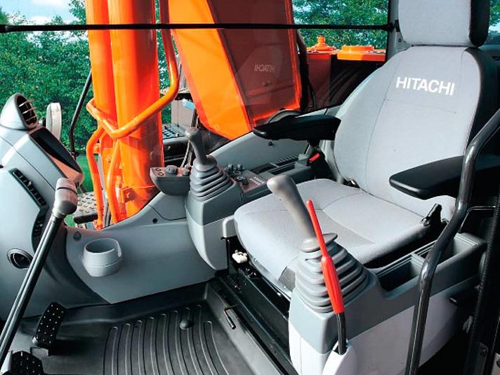 Фото №3:Экскаватор гусеничный Hitachi ZX200 5G